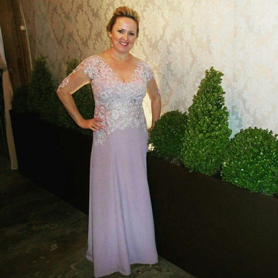 Vestido de festa Camila Milchert Atelier