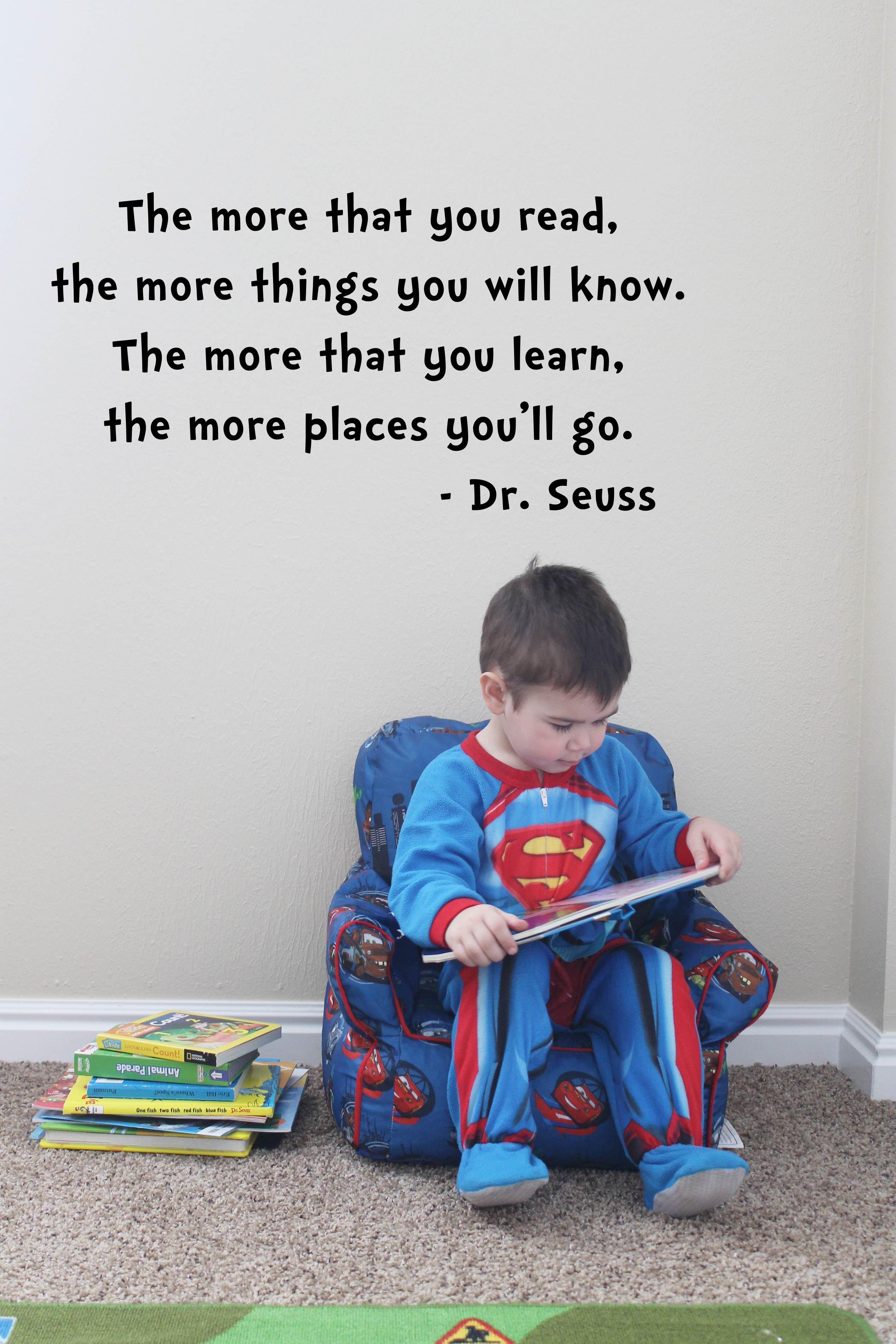 Dr Seuss Quote Read