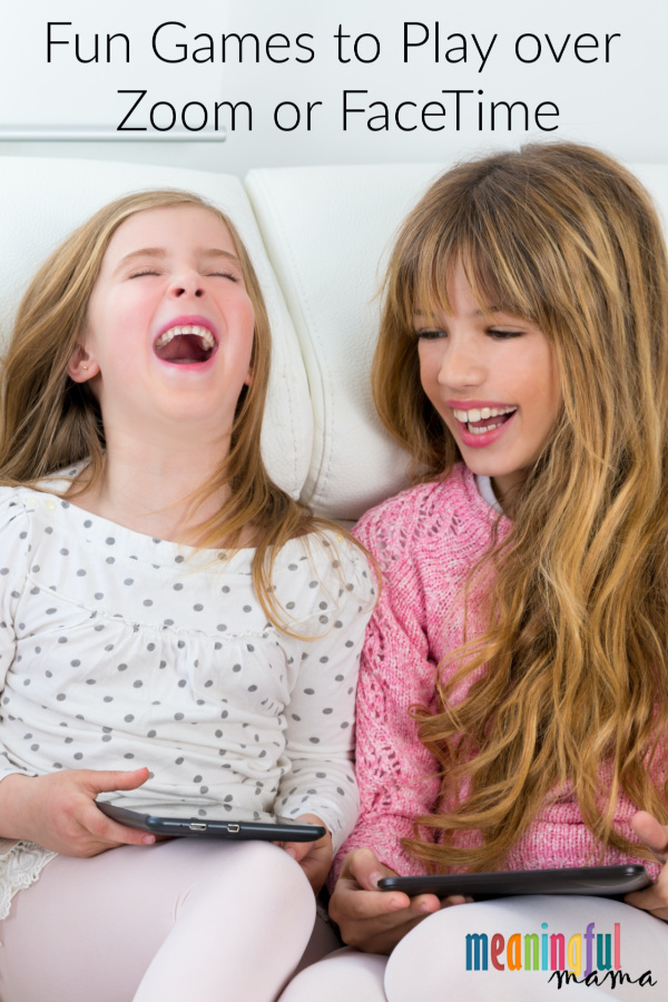 Fun Games To Play Over Zoom Or Facetime In 2020 Family Games To Play Fun Games Virtual Games For Kids