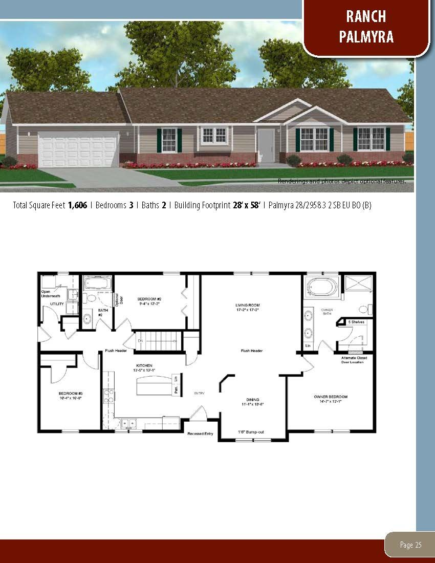 To Learn About Building Your New Home With All American Homes Visit Our Website At Www Allamericanhom Barn Homes Floor Plans New House Plans Ranch House Plans