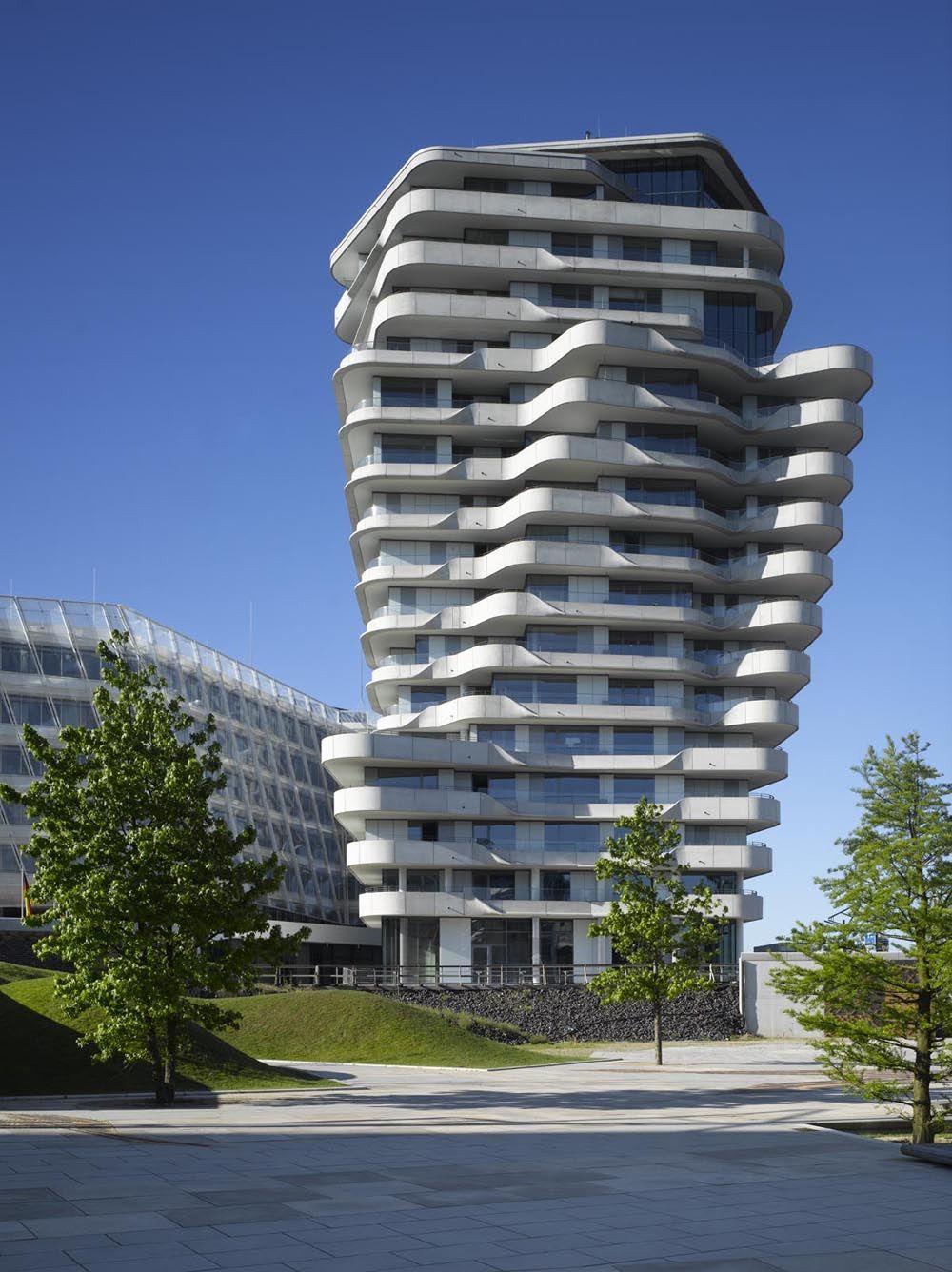 Marcopolo Tower, HafenCity, Hamburg (2010) | Architecture ...