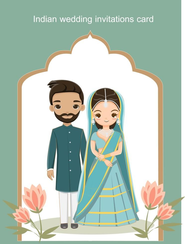 Indian Cartoon Wedding Cards: A Small Guide To Hosts!