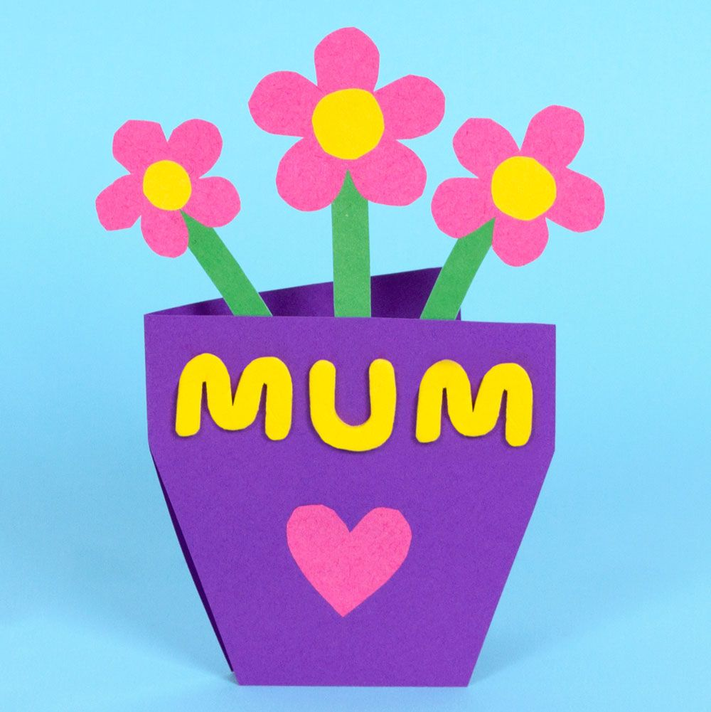 Feb 27 mothers day flowerpot card craft mothers day card kristyandbryce Gallery