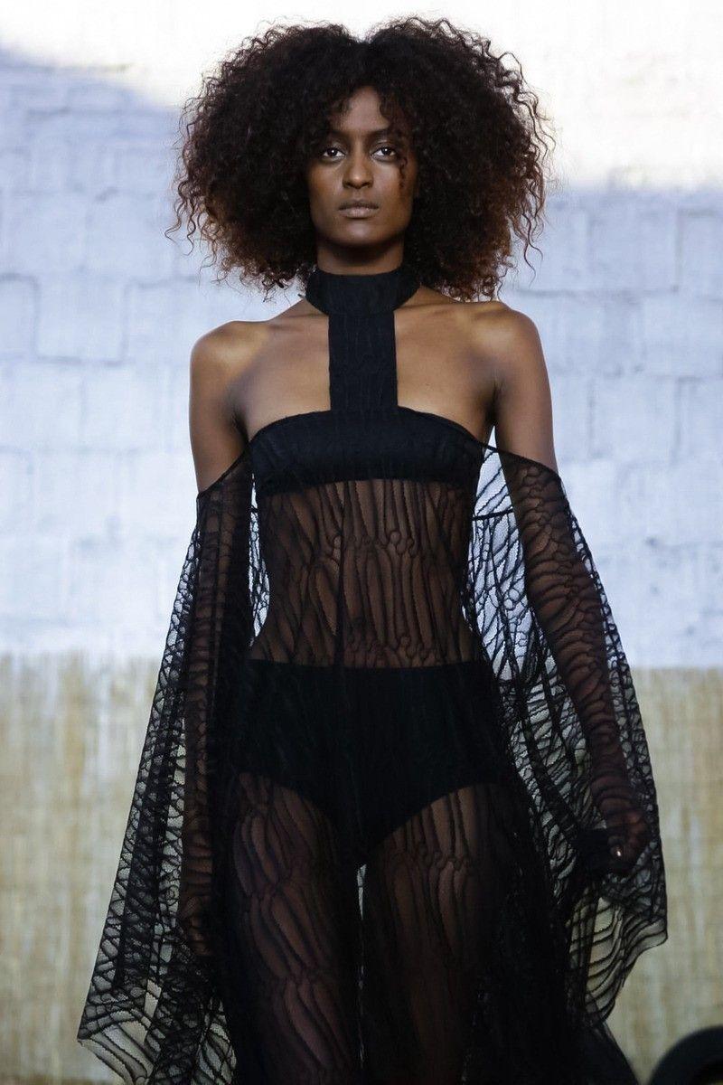 Ebony black barbara