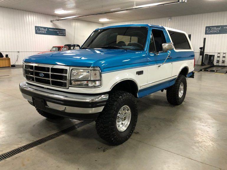 1994 Ford Bronco For Sale Ford Bronco Ford Bronco For Sale
