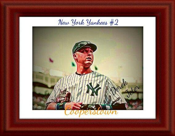 He will be missed - Yankees - Derek Jeter - cooperstown - hall of fame - vintage look
