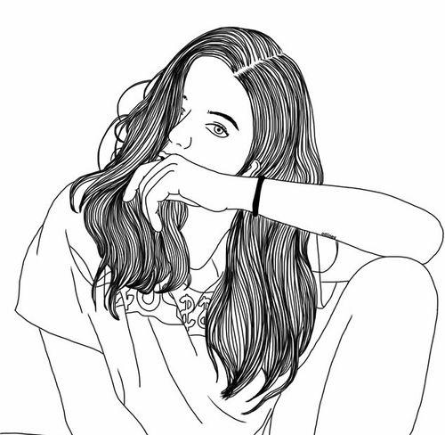 cute coloring pages teens | bocetos de vestidos chanel - Buscar con Google | Arte ...