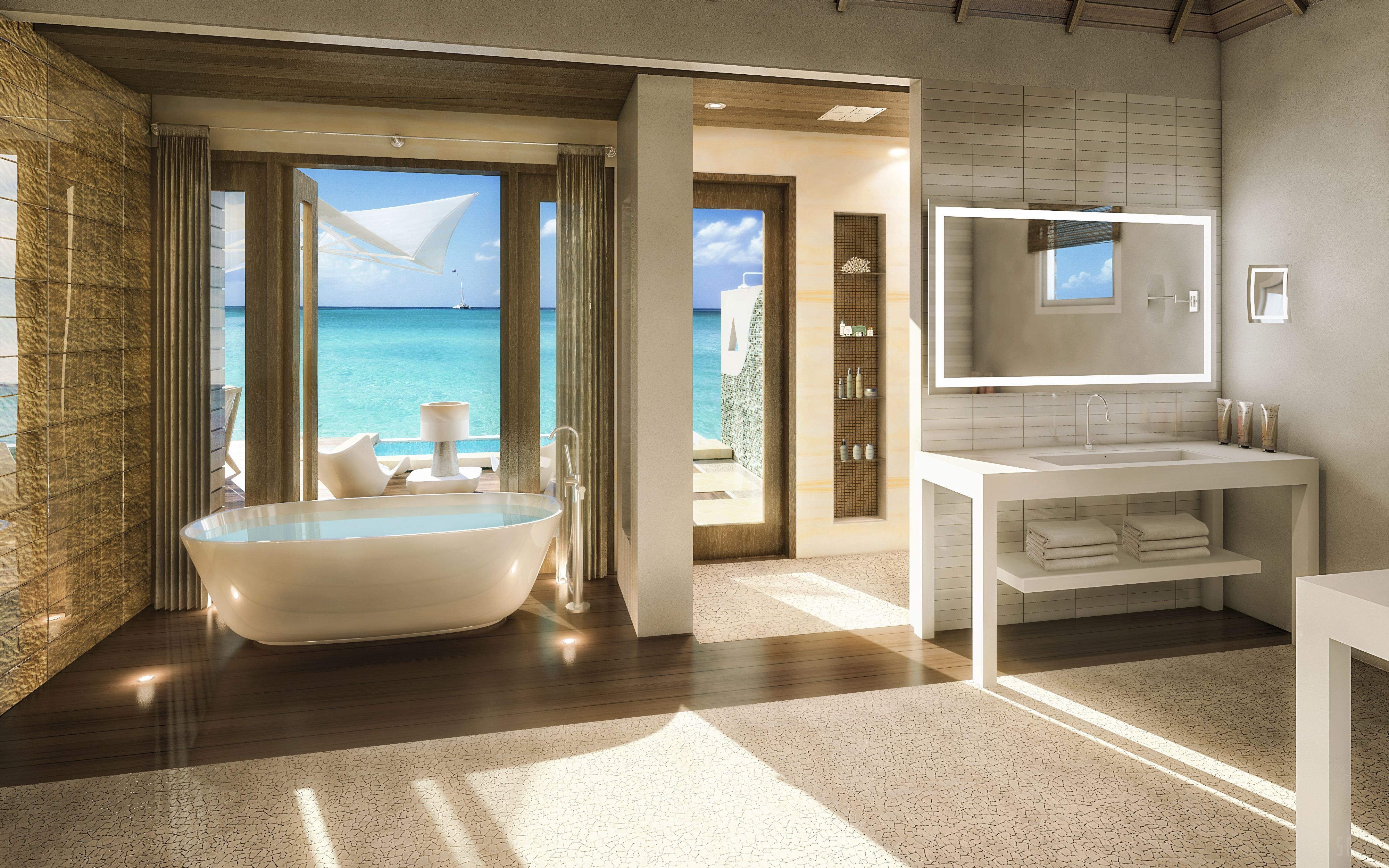 Bathroom Designs Jamaica these overwater hotel suites are insane (& all-inclusive