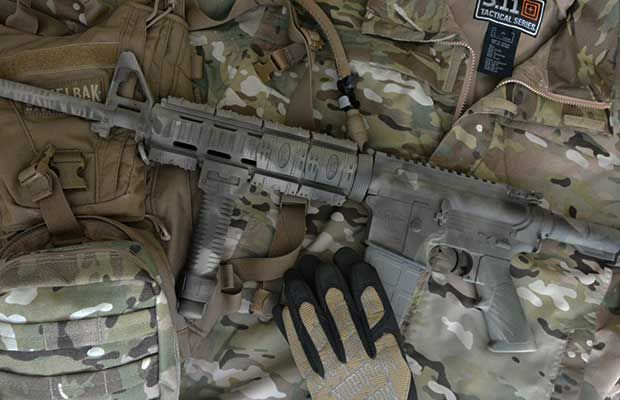 how to camo paint your ar15 the prepper journal. Black Bedroom Furniture Sets. Home Design Ideas