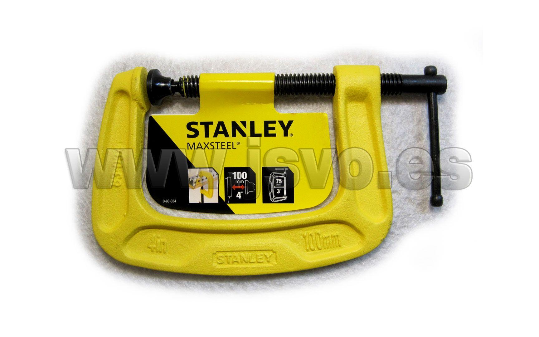 "STANLEY 0-83-036 Mordaza maxsteel cuerpo /""c/"" 200mm"