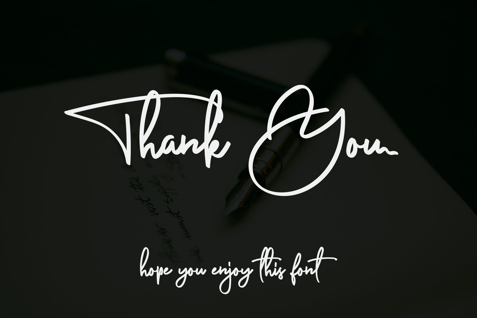 Anderfont a Signature Font Signature fonts, Signature