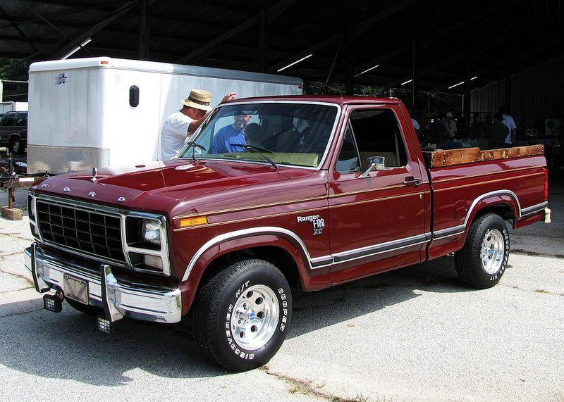 1981 F100 Ranger Xlt Clarksville Classic Ford Trucks Old Ford