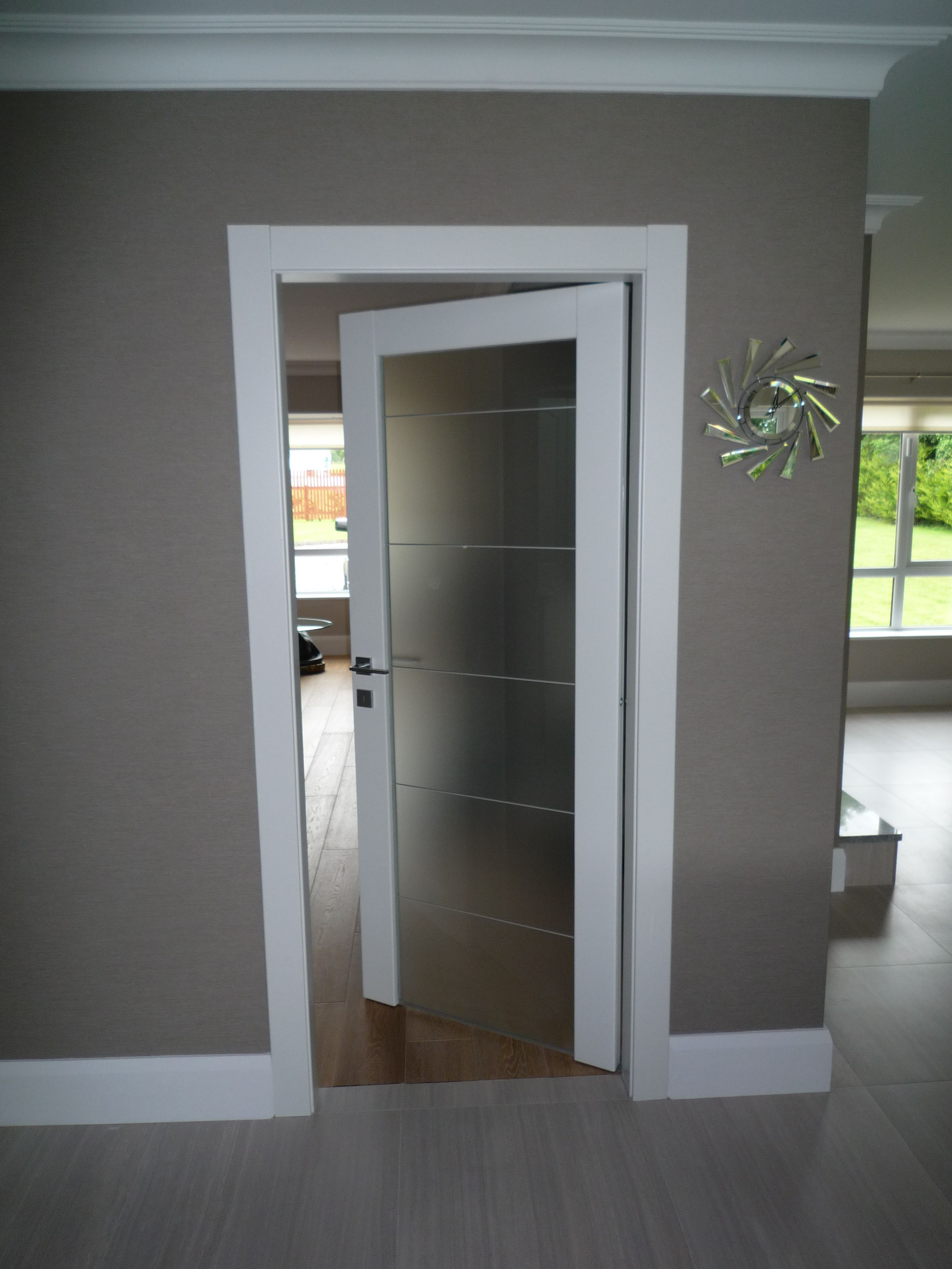Image result for modern white door architraves  doors