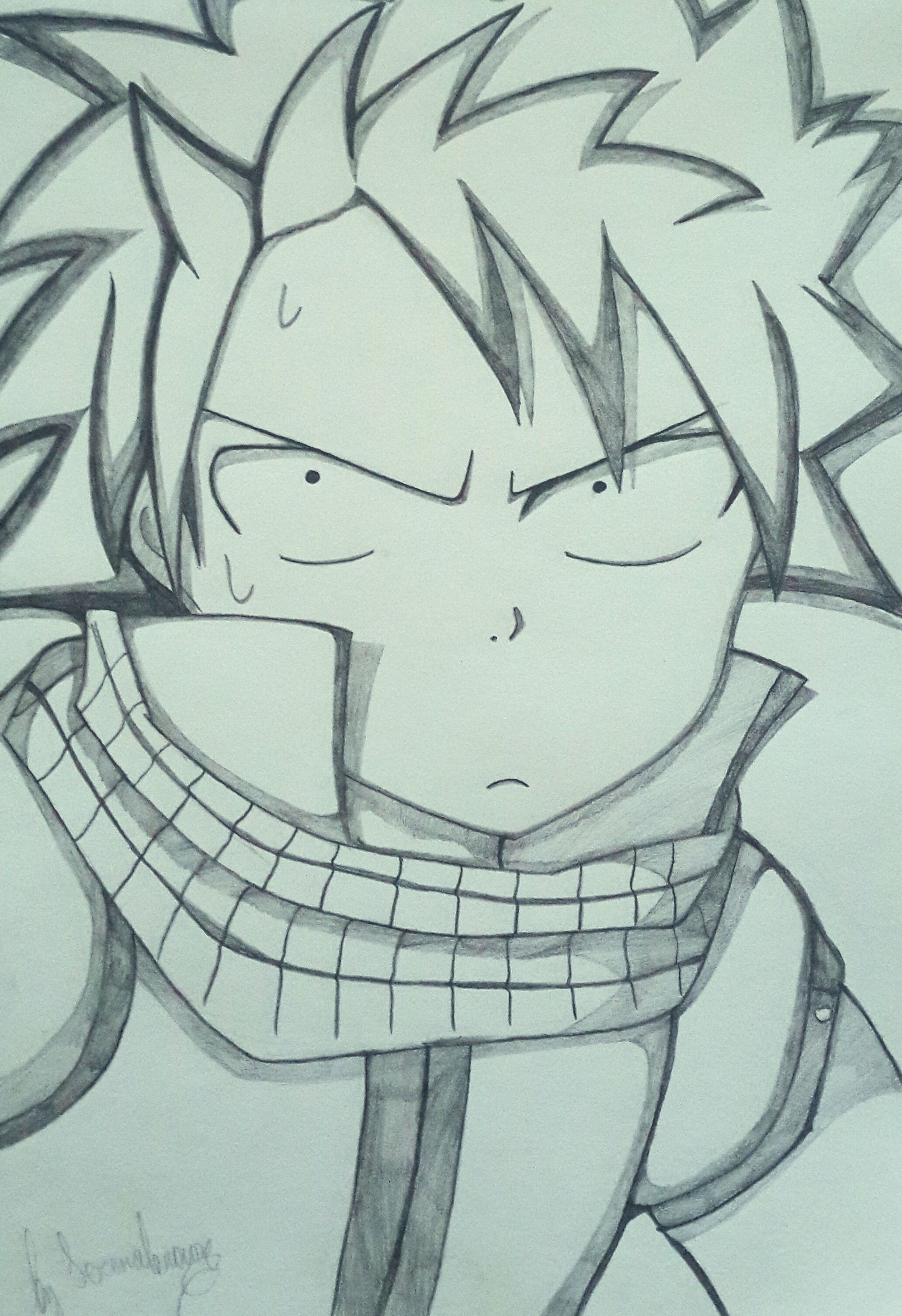 Natsu Dragneel Funny Yeah D Japanese Animation Drawings Fairy