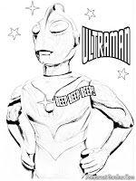 Belajar Mewarnai Gambar Ultraman Mewarnai Gambar Coloring Pages