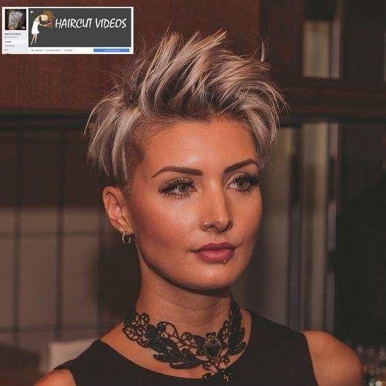 Épinglé par Patricia P sur coupes de cheveux | Cheveux courts original, Coiffure courte, Styles ...