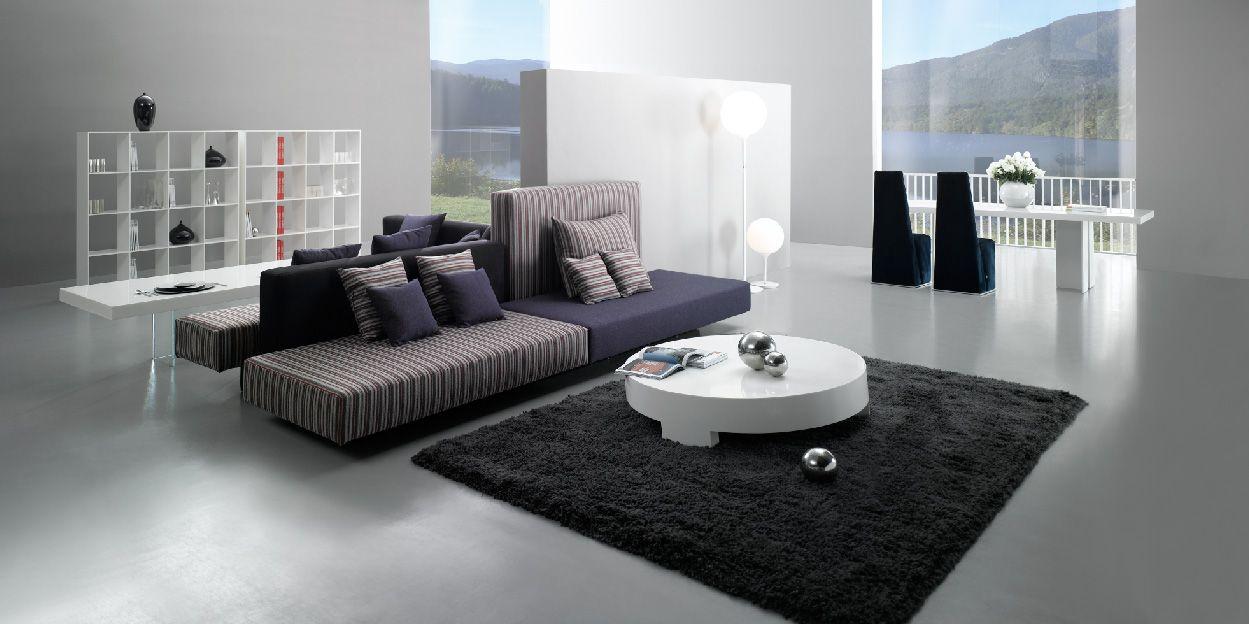 Small Sectional Sofa Simply Casa us SIMPLY SOFA Contemporary living room modern living room Purple contemporary sofa