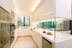 Ideas para zonas de cocina abiertas al salón. Nos encantan estas ...