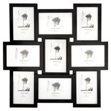 wilko photo frame multi frame black 6inx4in - Multi Picture Photo Frames