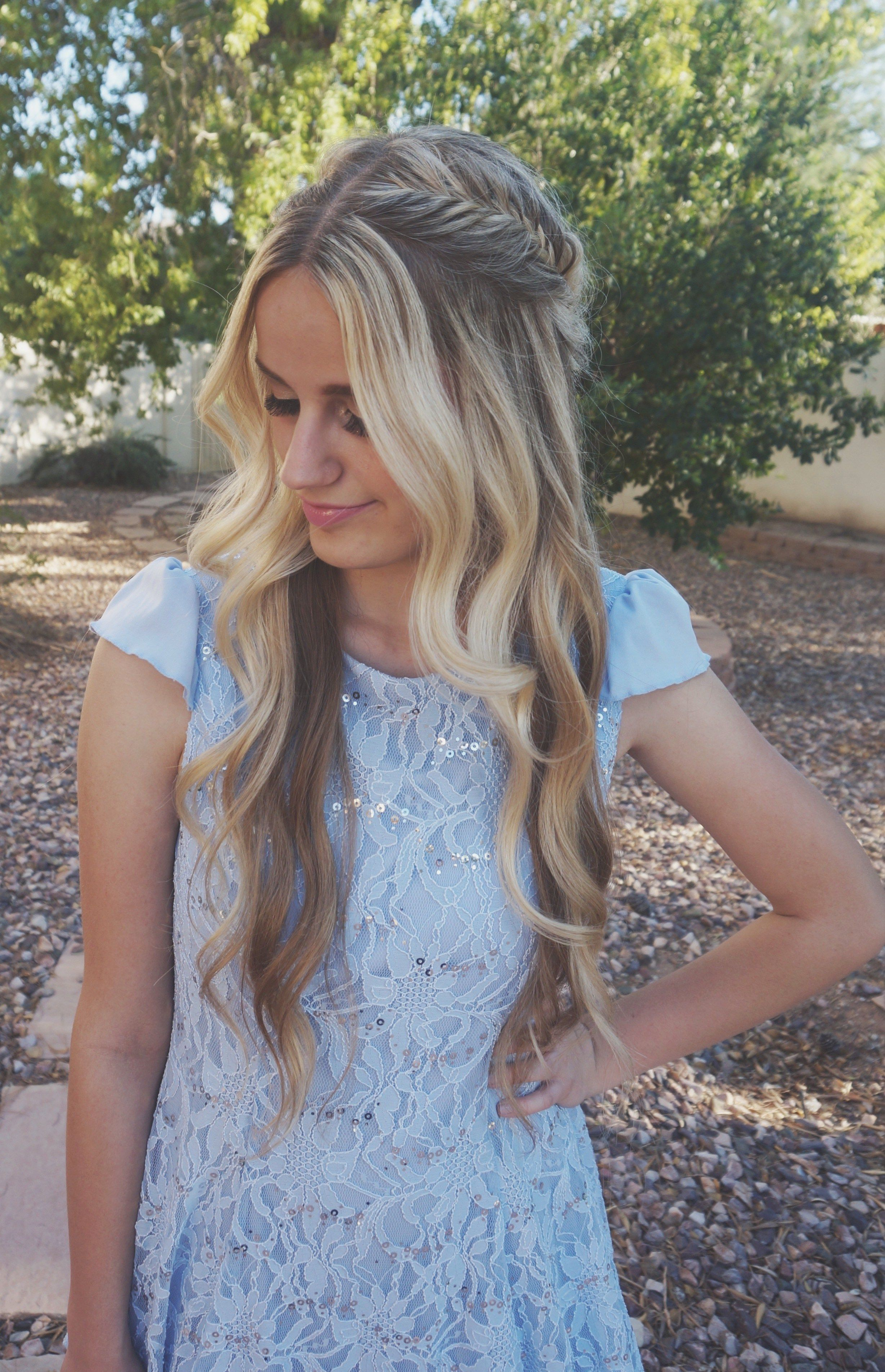 Hair by taylee four tips to perfect prom hair prom pinterest