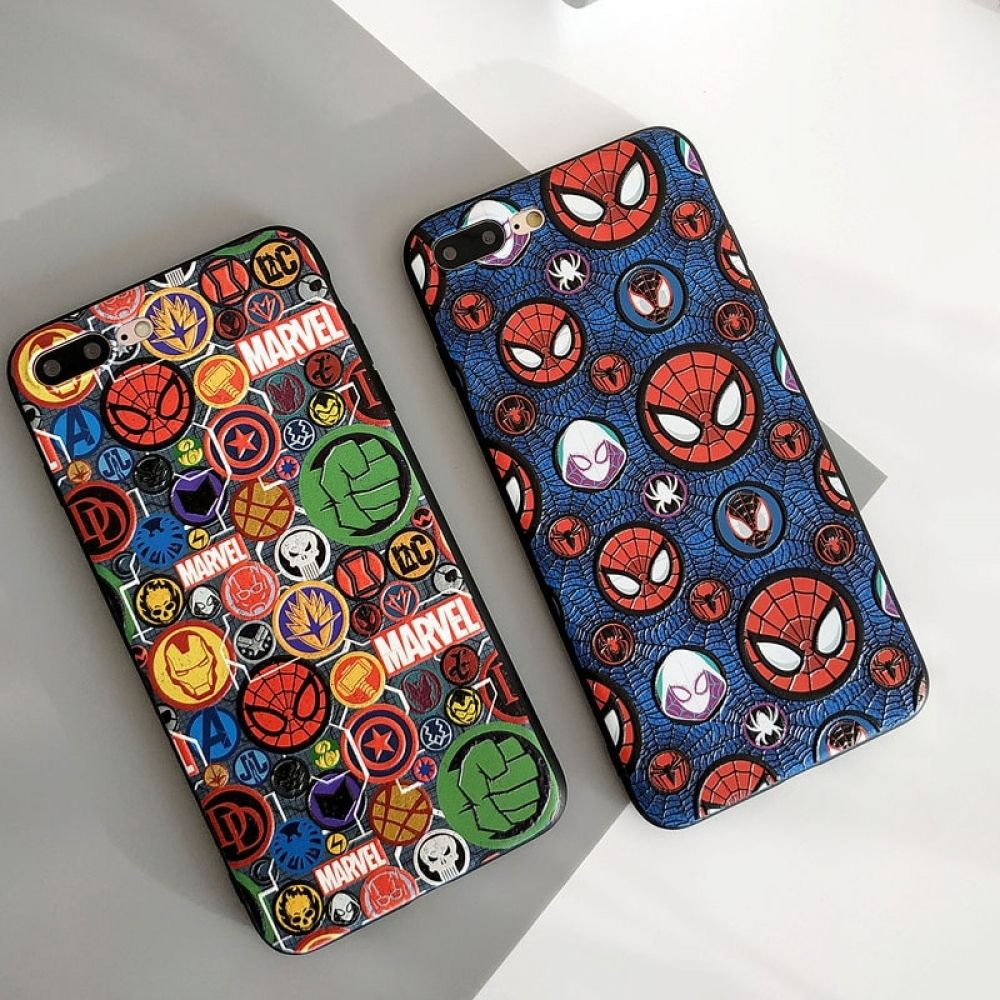 Cool marvel spiderman phone case for iphone in 2020