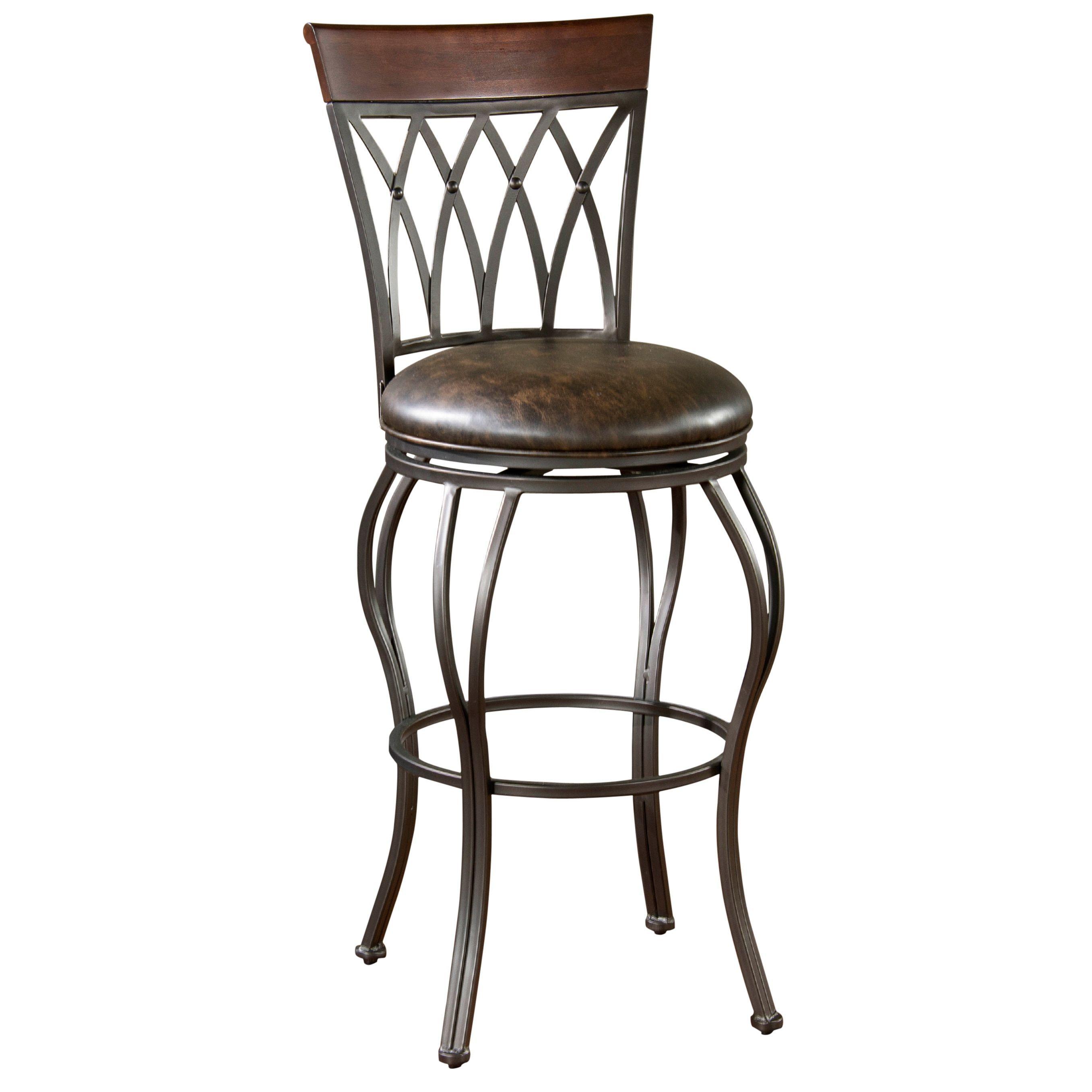 Excellent Parmele 34 Inch Tall Swivel Bar Stool Tall Bar Stool Red Machost Co Dining Chair Design Ideas Machostcouk