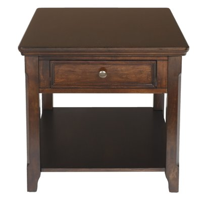 Alcott Hill Darrion End Table With Storage End Tables End