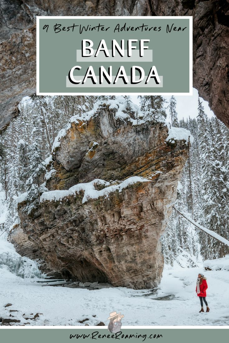 Photo of 9 Best Winter Adventures near Banff, Canada • Renee Roaming