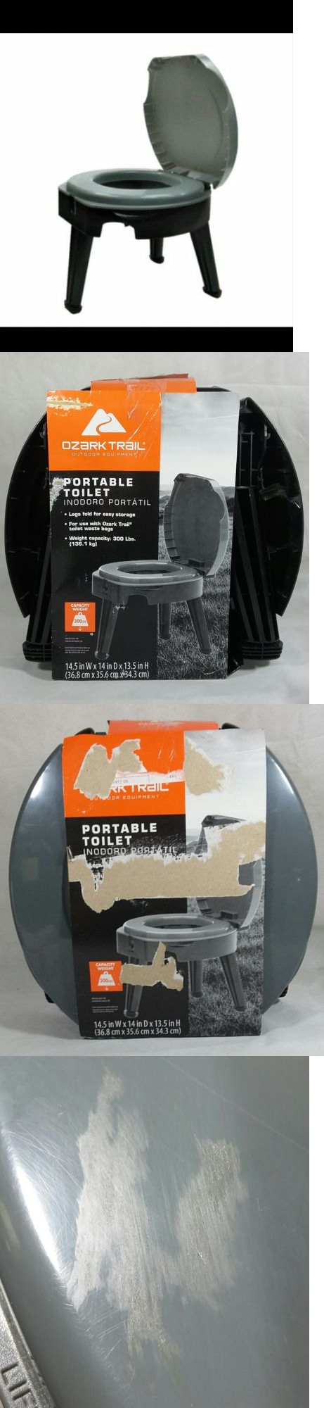 Portable Toilets and Accessories 181397: Reliance Folding Portable ...