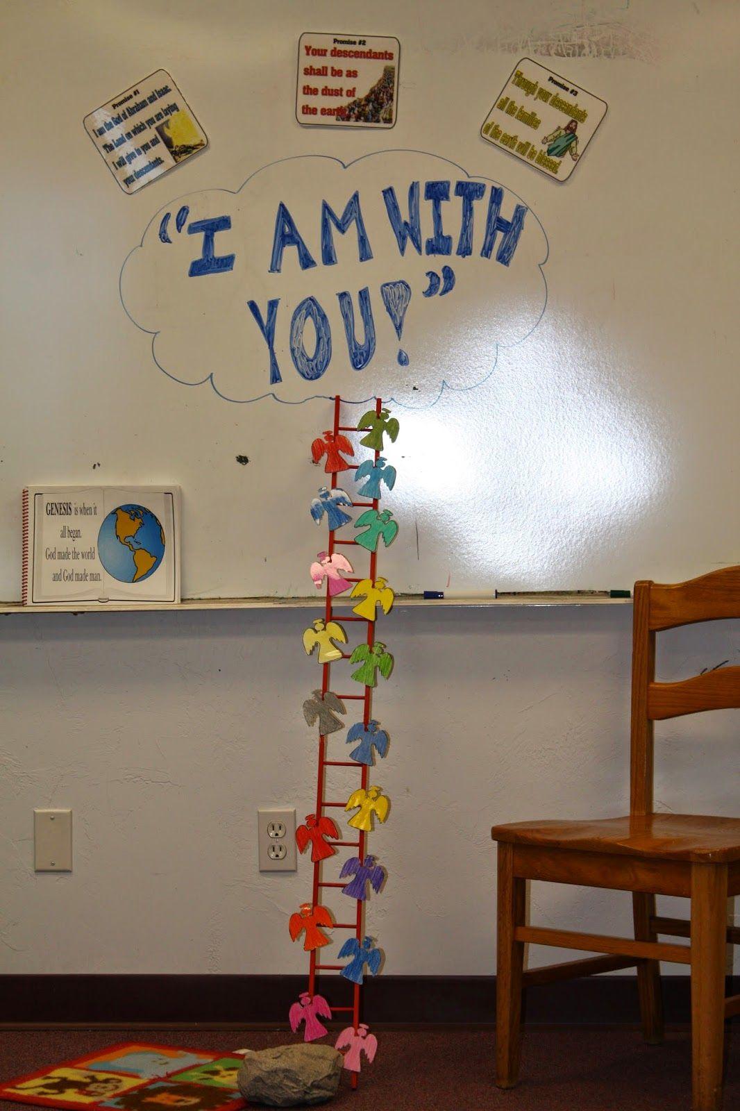 Hands On Bible Teacher Jacob Dreams Of A Ladder Childrenschurch Sundayschool