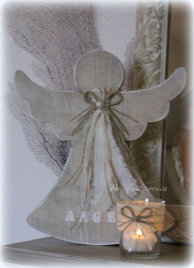 Espace chantournage boisflottecorsica angelitos for Manualidades souvenirs navidenos