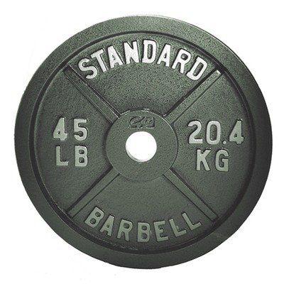 45 Lb Plate Workout