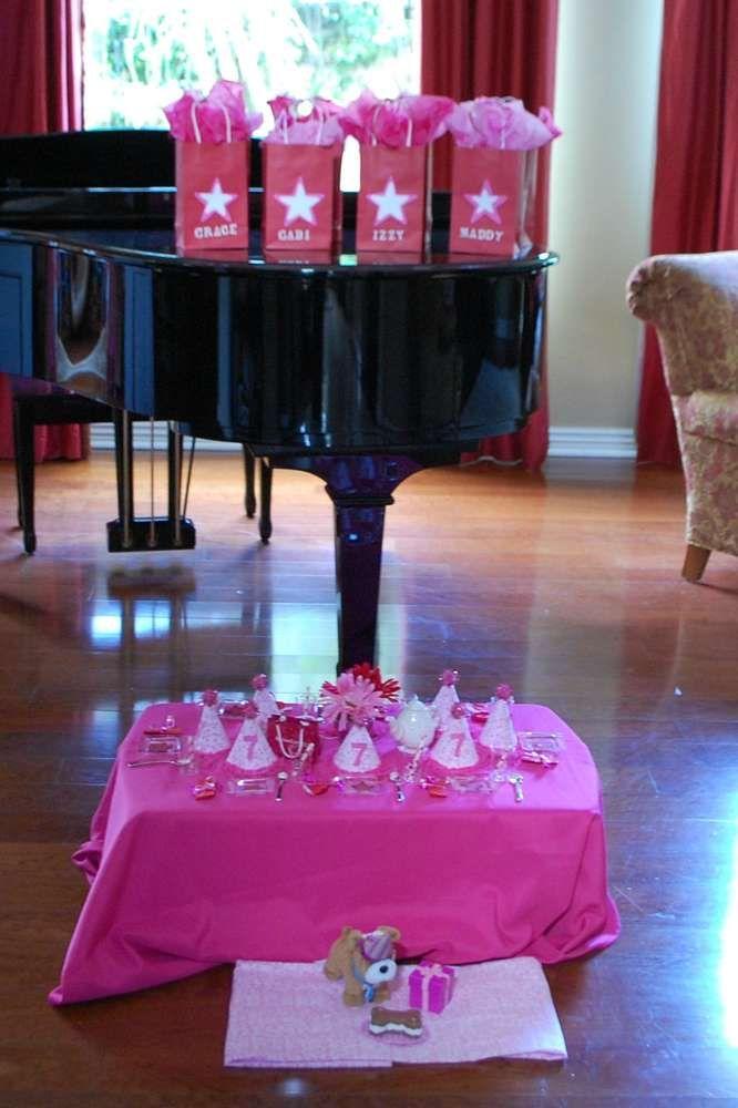 7th birthday party ideas for girl doll american girl 7th birthday late over party catchmypartycom ideas doll birthday party