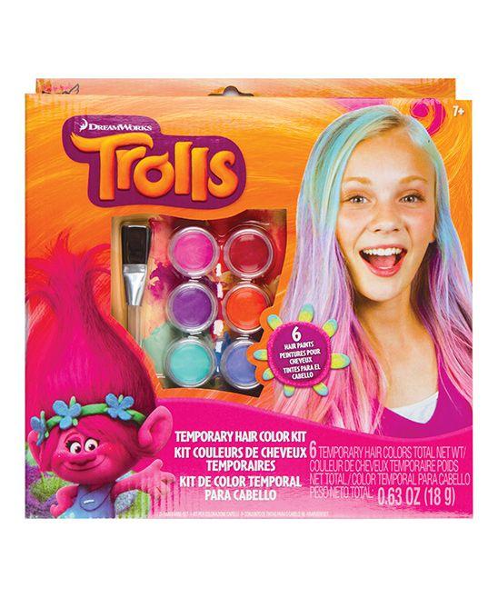 Trolls Temporary Hair Color Kit | Products | Temporary hair ...