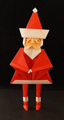 Santa Claus 2 Toyoaki Kawai Pinterest Santa Origami And Craft