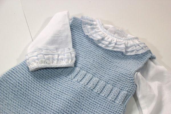 tejer ropa de bebe 2 agujas