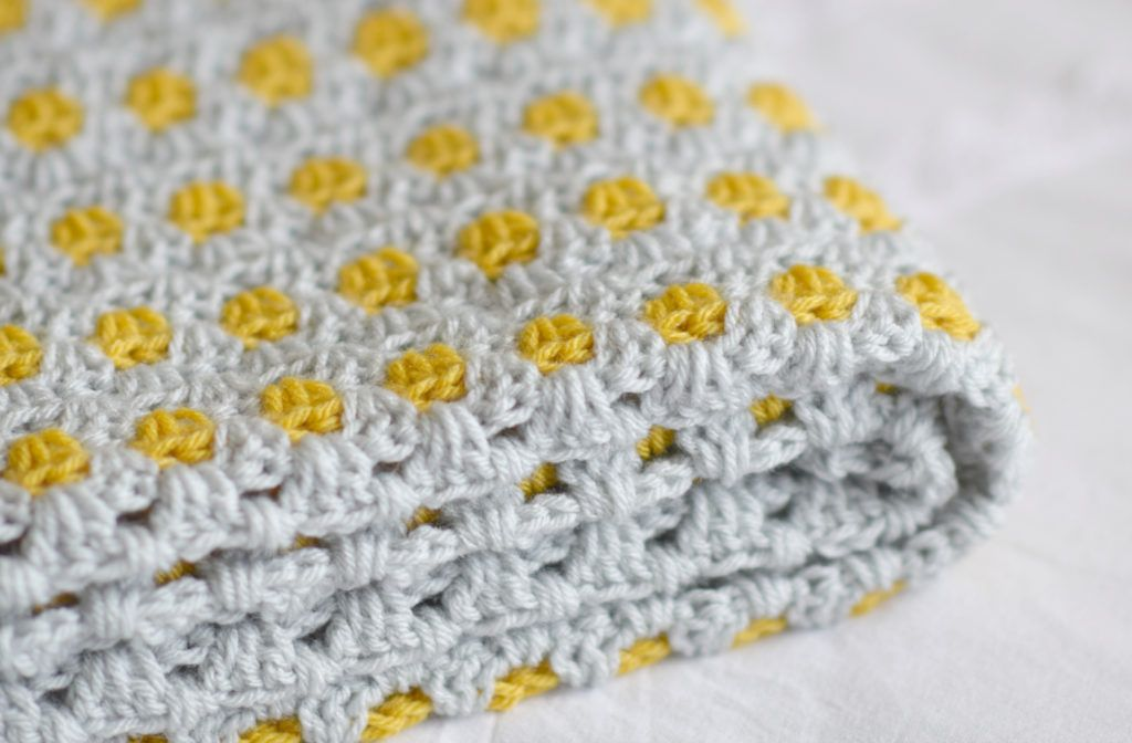 Yellow Brick Road Blanket – Mama In A Stitch | Crochet Blankets and ...