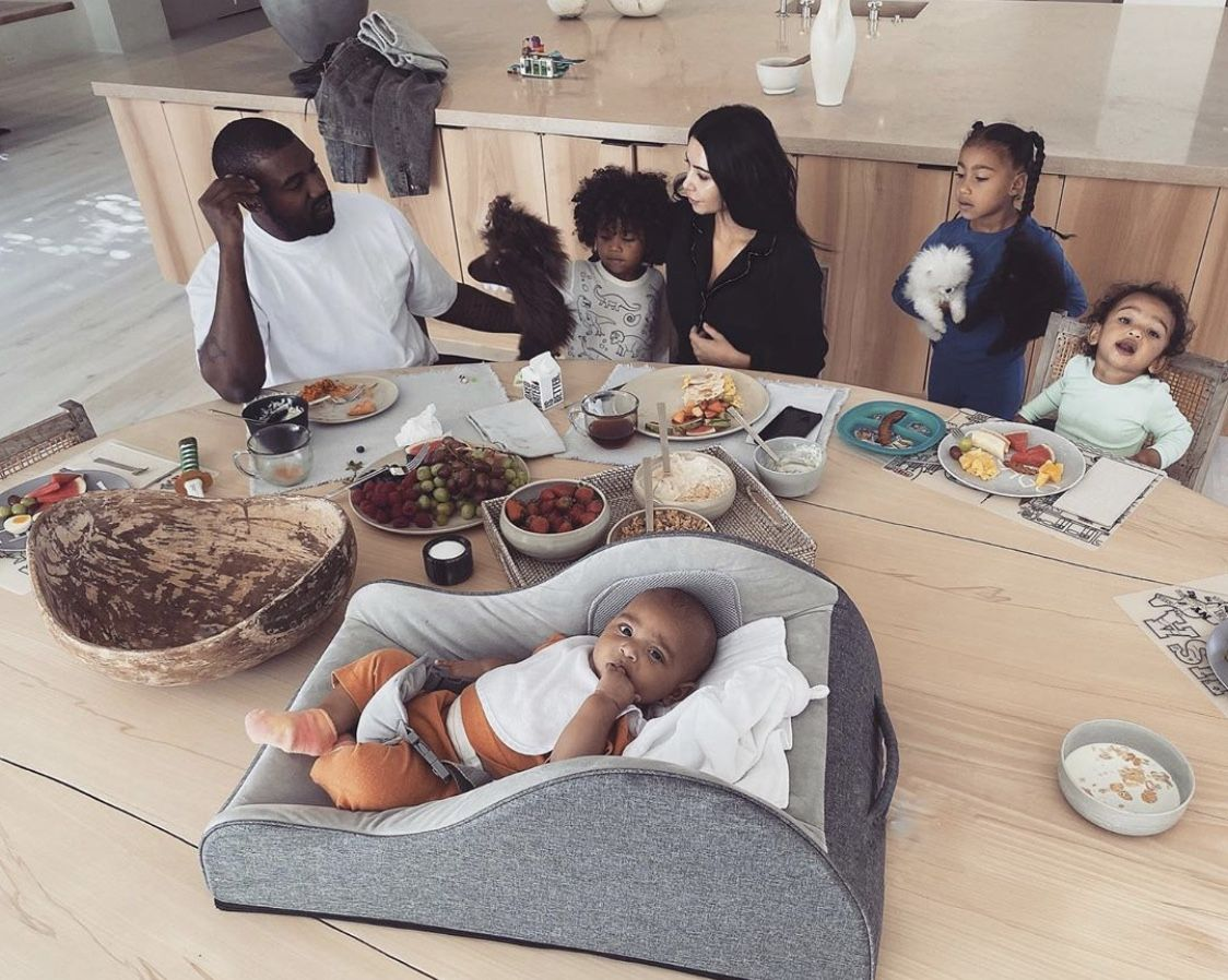 Pin By Ingrid Le On The West Family In 2020 Kim Kardashian And Kanye Kim Kardashian Kanye West Kim Kardashian