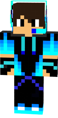 ariomnas mc original blue cool boy skin in 2020