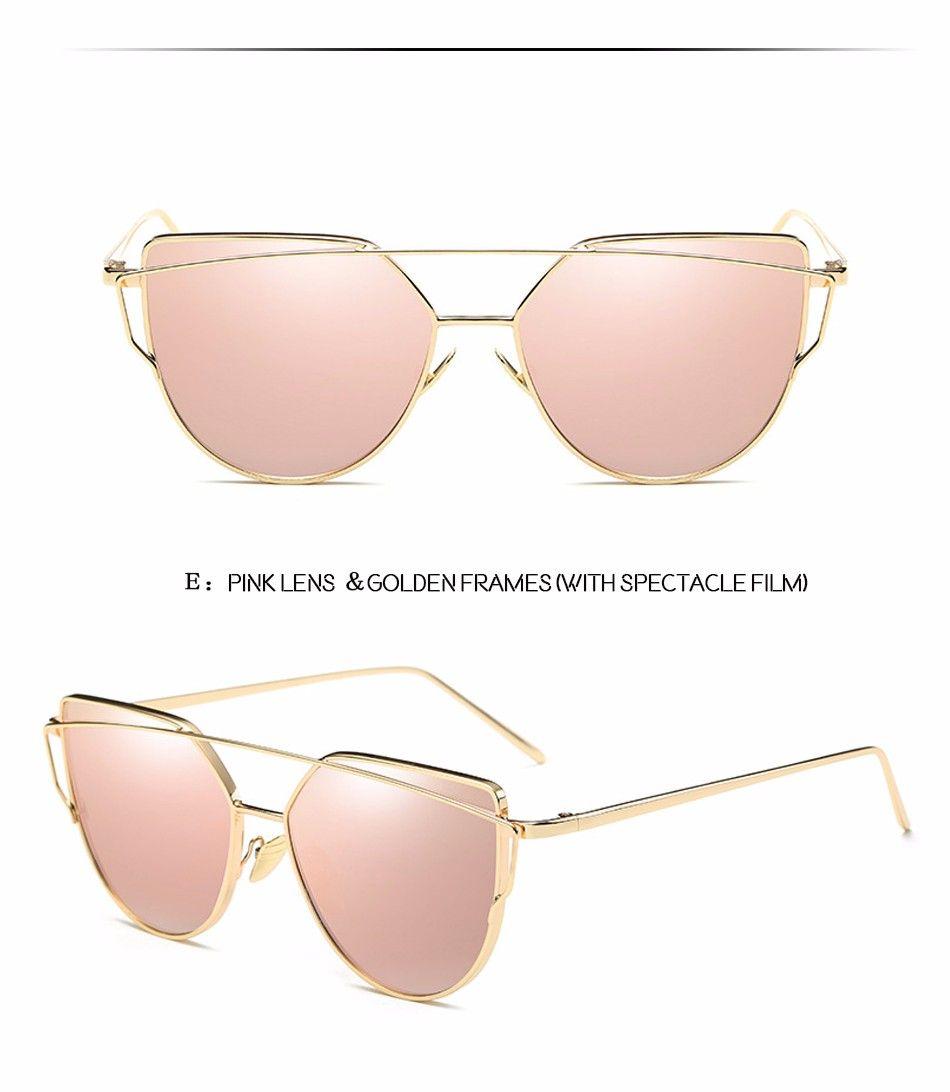 Fashion brand zonnebril voor vrouwen bril cat eye bril vrouwelijke ...