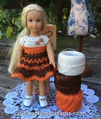 ABC Knitting Patterns - Crochet >> Doll Clothes: 71 Free Patterns | 500x428