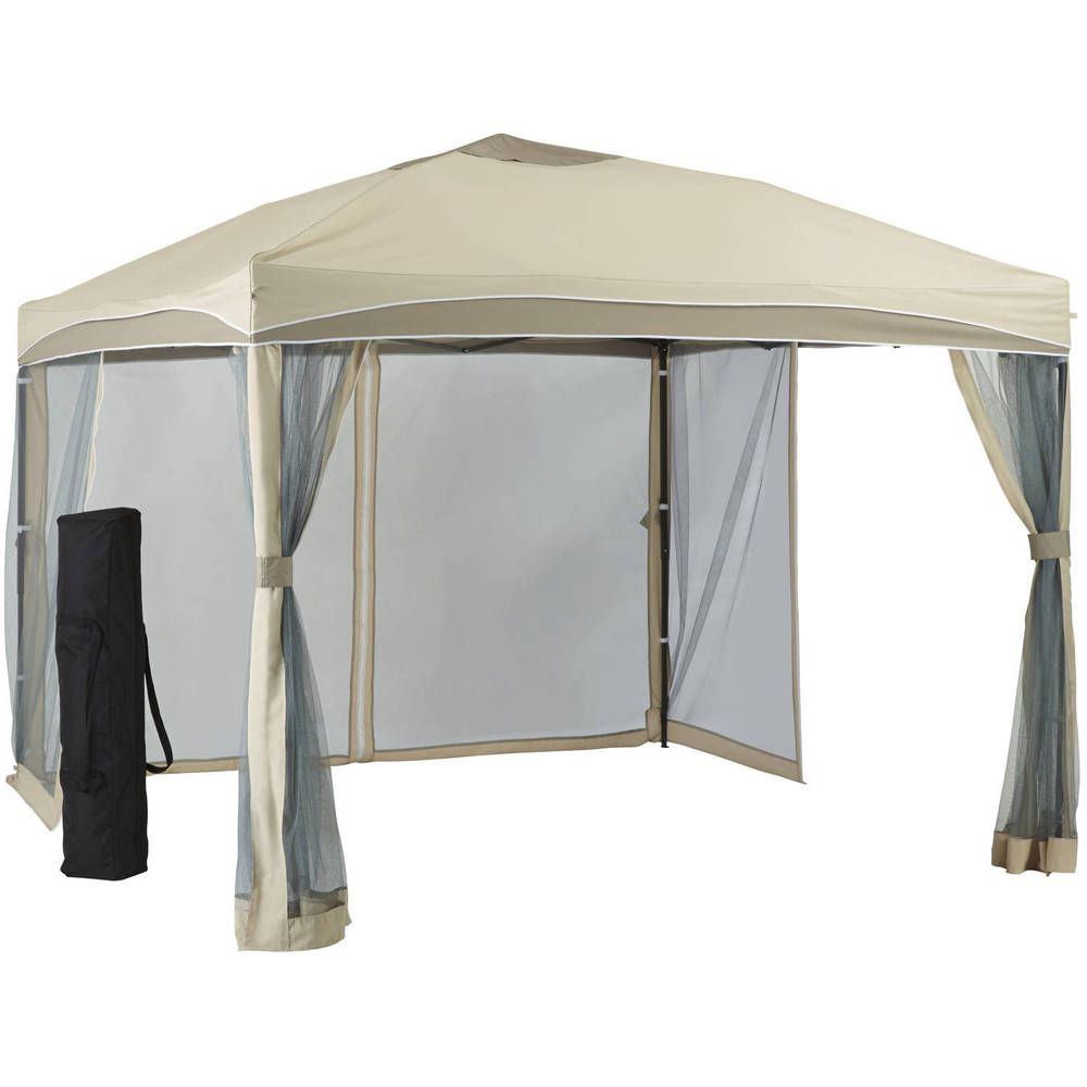 Find Relief From The Midday Sun With This Outdoor 10x10 Patio Gazebo Outdoor Garden Patio Lawn Spring Summer Home Portable Gazebo Gazebo Patio Gazebo