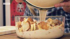 Antes de tirar la bollería que se ha quedado seca, ¿por qué no te haces un delicioso pastel con ella en dos patadas?  ¡Pastel de todo!