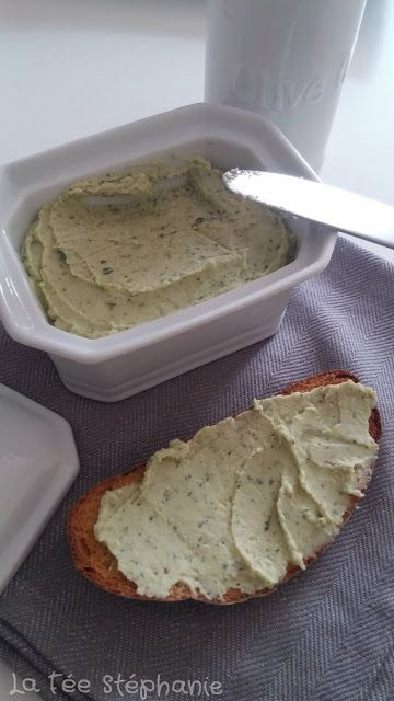 La Fée Stéphanie: Tartinade de haricots cannellini, une recette végétalienne fraîche et étonnante