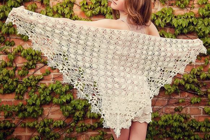 Sweet Nothings Crochet: MARGA\'S SHAWL | Crochet Body Wraps, Shawls ...
