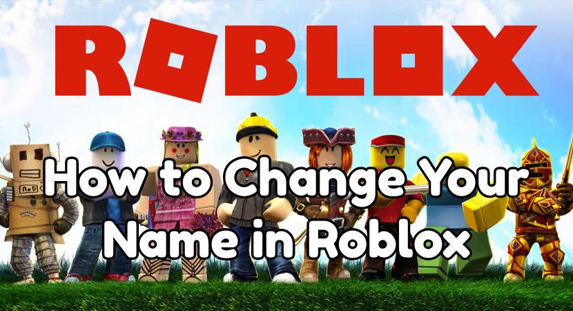 How To Change Your Name In Roblox Dengan Gambar