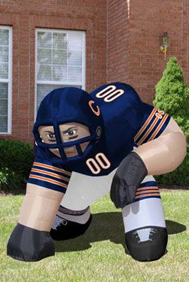 low priced dc74f 3bb4a Chicago Bears Bubba Inflatable Lawn Figurine | Da Bears ...