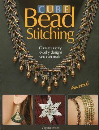 Cube bead stitching  Bead