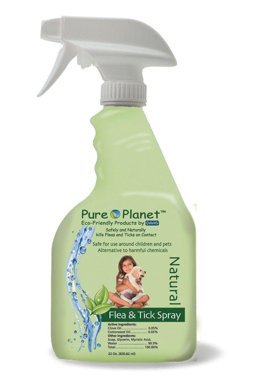 Pure Eco Friendly Natural Flea and Tick SprayOn
