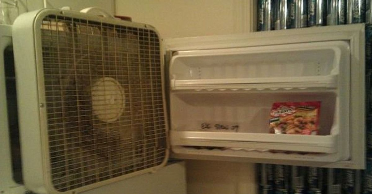 The Struggle Without A C Is Real Homemade Air Conditioner